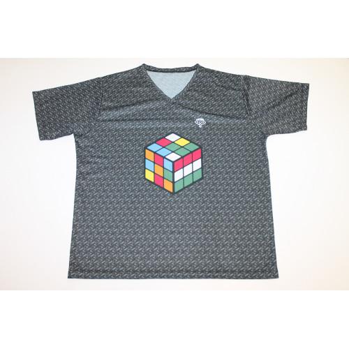 Rubikos póló szürke | Rubik kocka