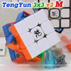 Dayan 3x3x3 cube - magnetic TengYun V2 M   Rubik kocka