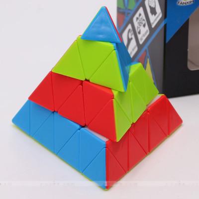 Verseny Rubik Kocka FanXin 4x4 Pyramid cube 4-Layer