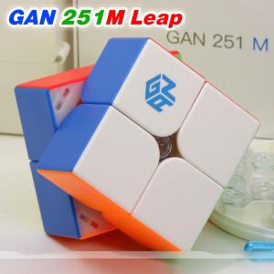 Verseny Rubik Kocka GAN 2x2x2 magnetic cube - GAN251 M Pro Leap