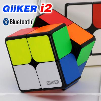 Verseny Rubik Kocka Giiker 2x2x2 suppercube i2 Bluetooth APP
