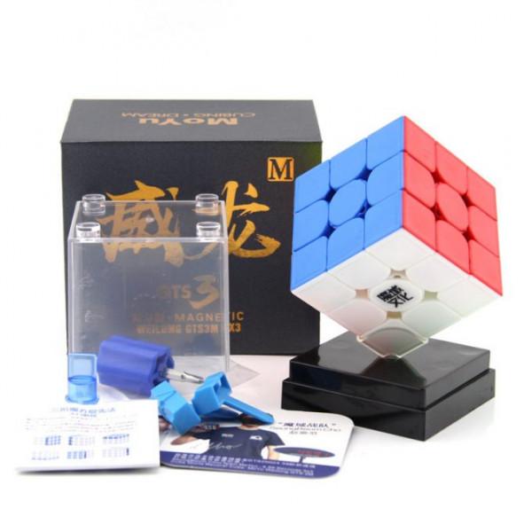 Verseny Rubik Kocka Moyu 3x3x3 Magnetic Cube - WeiLong GTS-3M