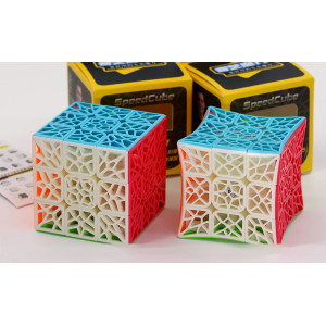 Verseny Rubik Kocka QiYi 3x3x3 cube - DNA Plane / Concave