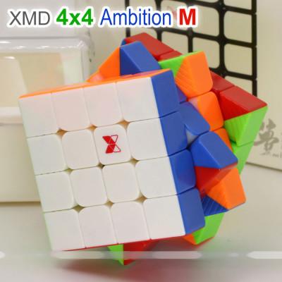 Verseny Rubik Kocka QiYi XMD 4x4x4 magnetic cube - Ambition M