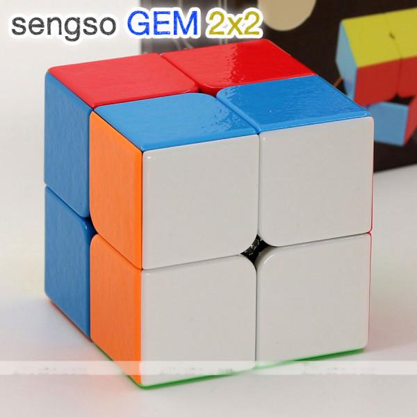 Verseny Rubik Kocka ShengShou 2x2x2 cube - GEM
