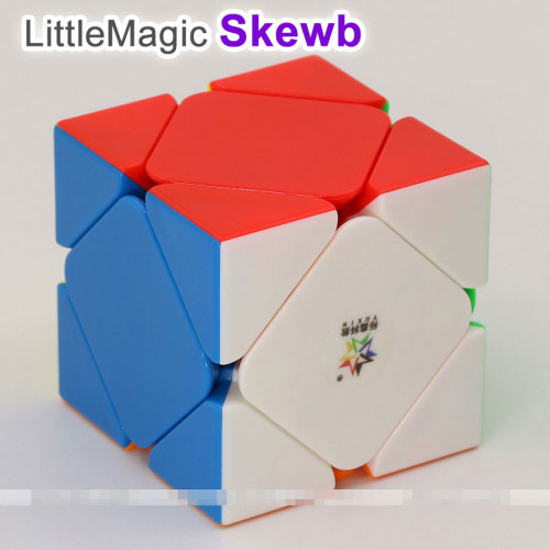 YuXin LittleMagic Skewb cube   Rubik kocka