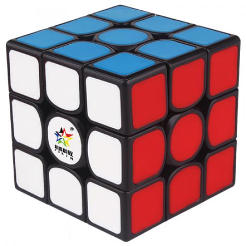 YuXin Kylin V2 M 3x3x3 Magnetic Speed Cube Black Deep Red Version | Rubik kocka