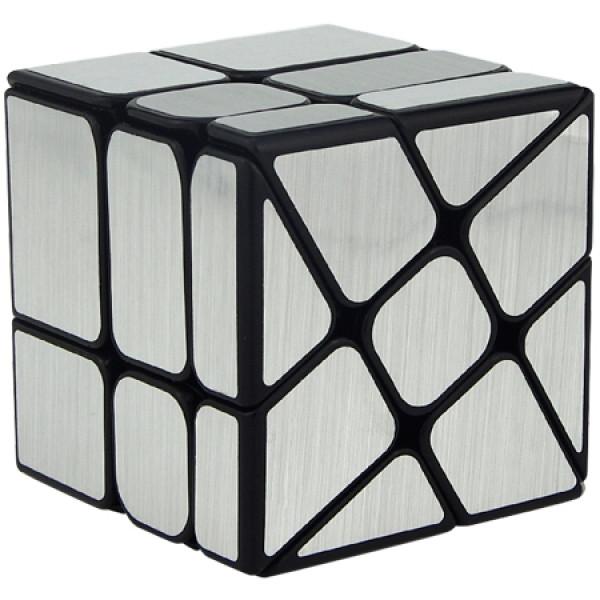 Verseny Rubik Kocka Cubing Classroom Windmirror Magic Cube Brushed Silver