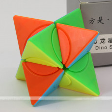 f/s limCube 2x2x2 Circle Series - Pyramorphix Dino Star Plus LiuSeLingJing Ⅱ Dino Star Plus | Rubik kocka
