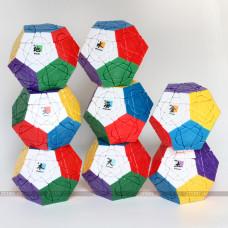 mf8+dayan cube - Crazy Megaminx plus   Rubik kocka