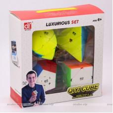 QiYi cube set - Pyraminx Mastermorphix Skewb Megaminx | Rubik kocka