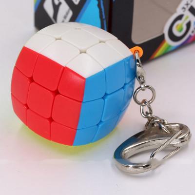 Verseny Rubik Kocka FanXin Buns keychain 3x3x3 cube (3.6cm)