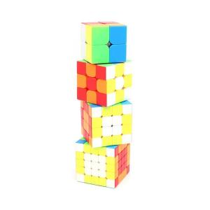 Verseny Rubik Kocka Moyu 2345 cube - MF2+3RS+4S+5S set