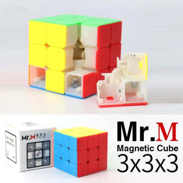 Verseny Rubik Kocka ShengShou 3x3x3 Magnetic cube - Mr.M