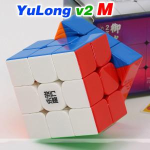 Verseny Rubik Kocka YongJun YuLong V2 M 3x3x3 Magnetic Magic Cube