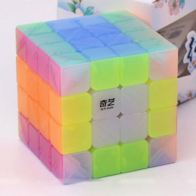 Verseny Rubik Kocka QiYi cube transparent Jelly colour series of 4x4