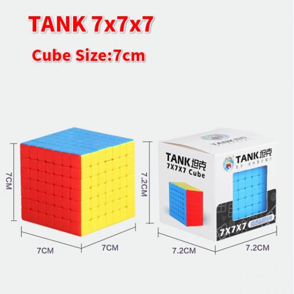 Verseny Rubik Kocka Sengso Tank 7x7x7 puzzle cube
