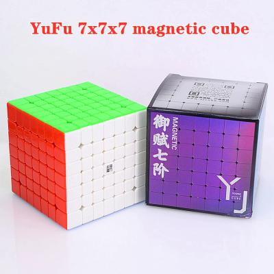 Verseny Rubik Kocka YoungJun 7x7x7 magnetic cube - YuFu M