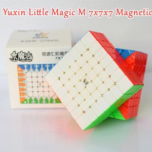 Verseny Rubik Kocka YuXin 7x7x7 magnetic cube - LittleMagic M